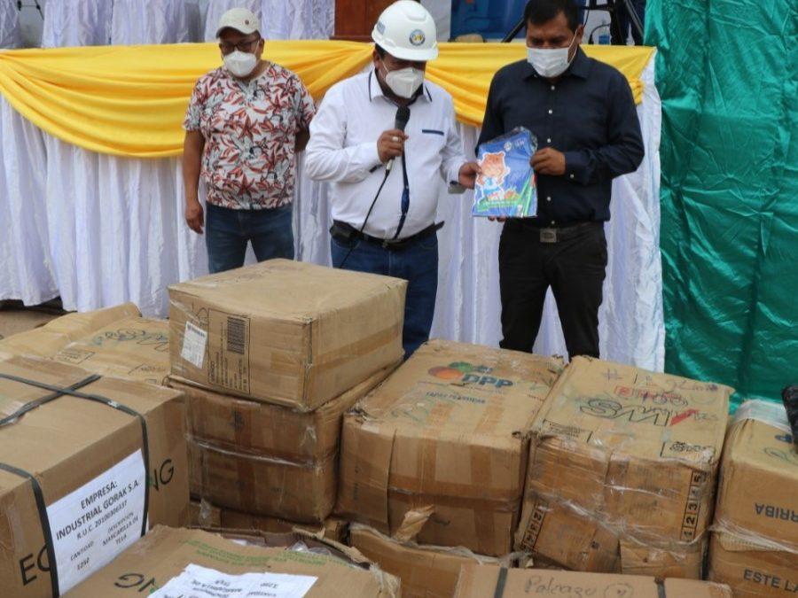 Donación de más de 4000 mascarillas