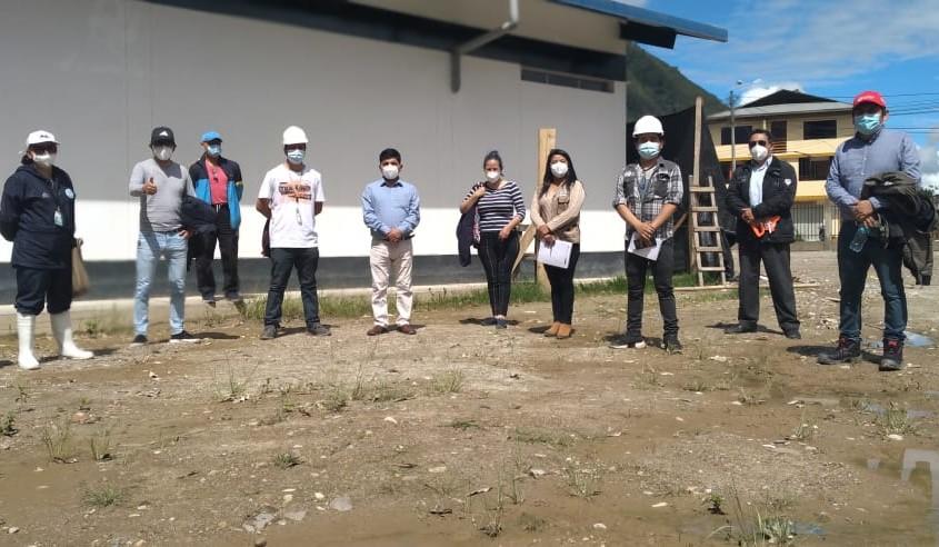 Construcción de la planta de oxígeno para el departamento de Pasco